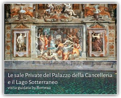 Le Sale Private del Palazzo della Cancelleria e il Lago Sotterraneo - €20