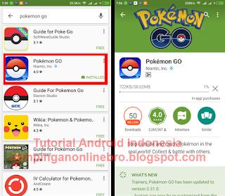 Akhirnya Download Pokemon GO Sudah Bisa Via Playstore Indonesia