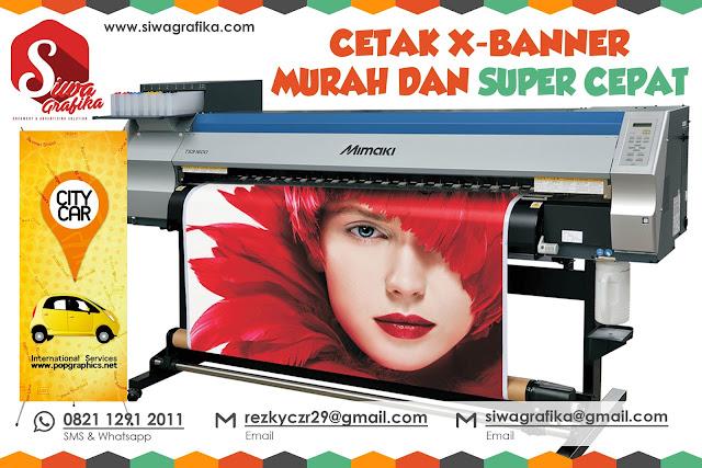 Cetak X Banner Online Murah di Jakarta