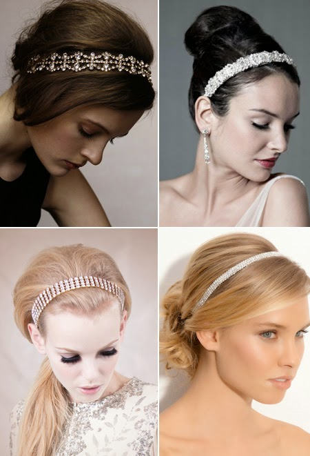 Sparkling headbands