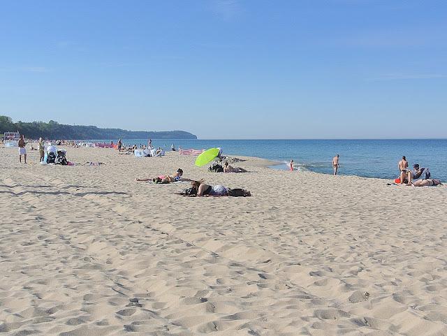 plaże po sezonie, Bałtyk, piasek