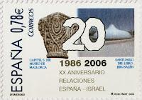 XX ANIVERSARIO DEL ESTABLECIMIENTO DE RELACIONES DIPLOMÁTICAS ESPAÑA ISRAEL