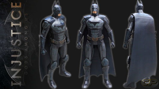 (Injustice: Gods among Us) Batman Paper Model ~ Cepot Patel Paper Model