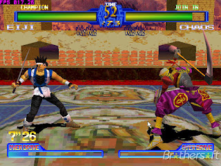 Free Download Battle Arena Toshinden Games PS1 For PCFull Version ZGASPC