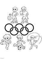 Dibujos infantiles de olimpiadas - Imagui