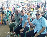 Susuri Enam Desa di Kecamatan Monta dan Langgudu, Mori Hanafi Disambut Meriah