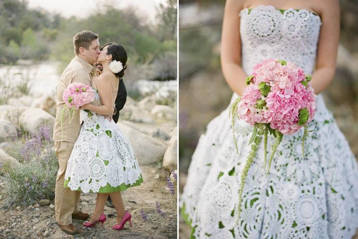 vestidos tejidos a crochet para novias – vestidos para bodas