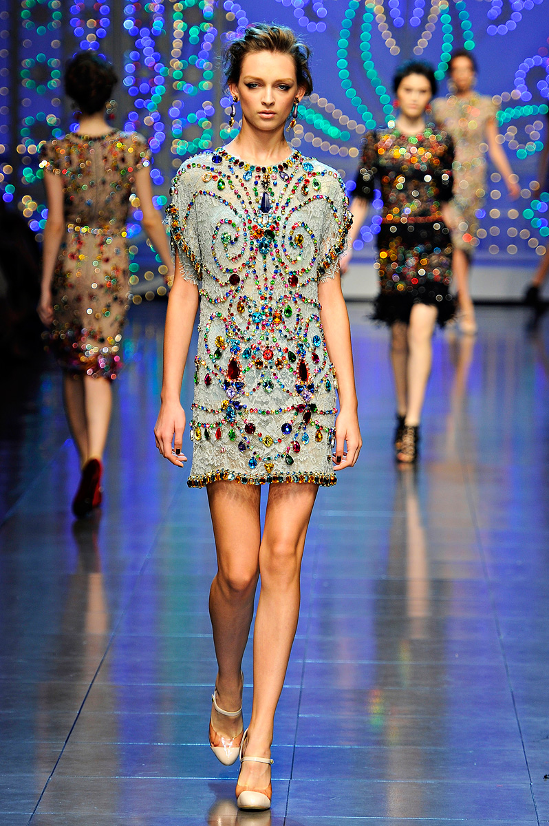 Dasha S Fashion Dolce Amp Gabbana Spring Summer 2012