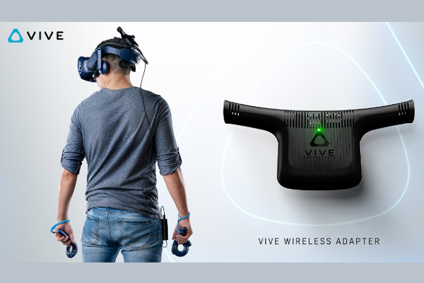Gamescom 2018: HTC announces Vive Wireless Adapter availability