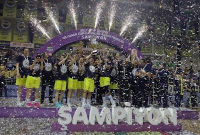 2017-2018 KBSL şampiyonu Fenerbahçe Kadın Basketbol Takımı