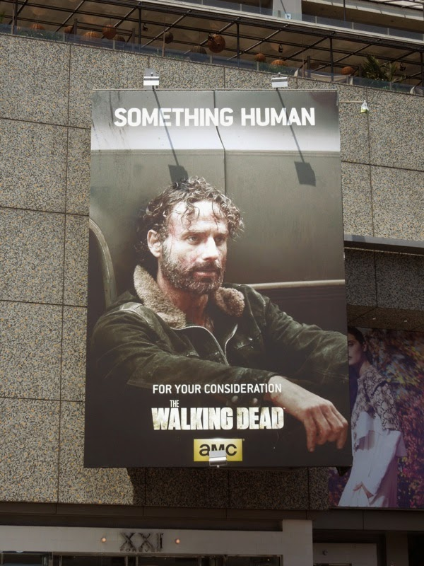 Walking Dead Something Human Rick Grimes Emmy 2014 billboard