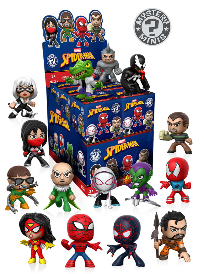 The Blot Says Spider Man Marvel Mystery Minis Blind