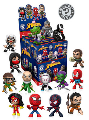 Classic Spider-Man Marvel Mystery Minis Blind Box Series by Funko