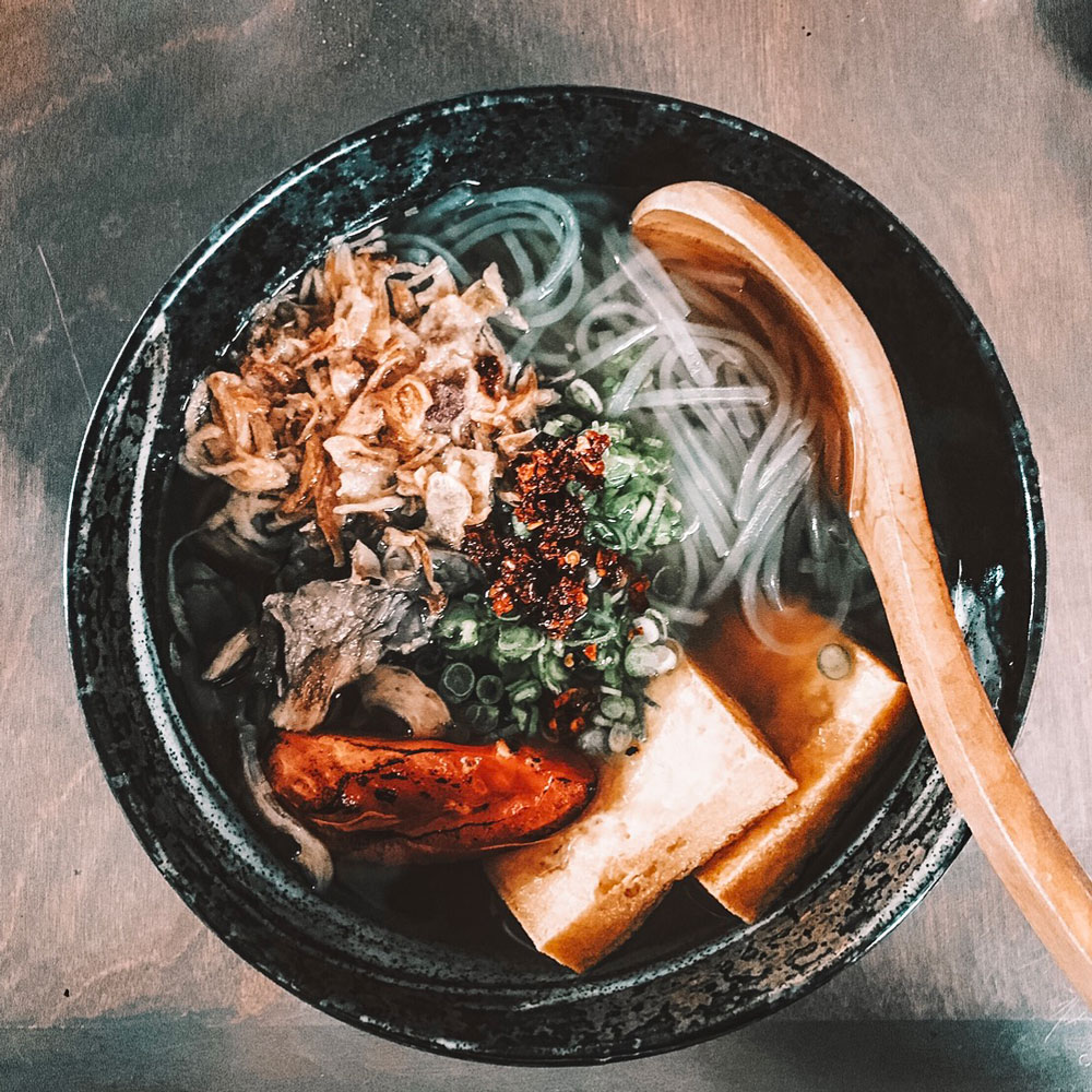 According to OKC blogger Amanda's OK, GoRo Ramen in the Plaza District is the best ramen in Oklahoma City
