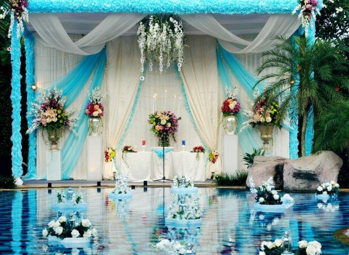 10 dekorasi bertema biru modern