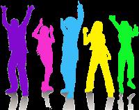 Discoteca - simbolismo colorido
