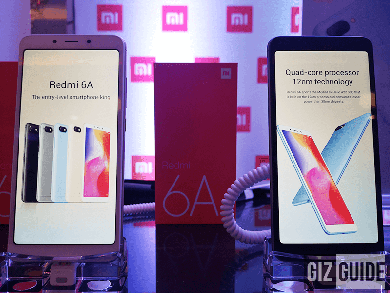 Xiaomi Redmi 6A and Redmi 6 now official in the Philippines