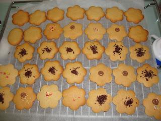 Galletas de mantequilla para decorar