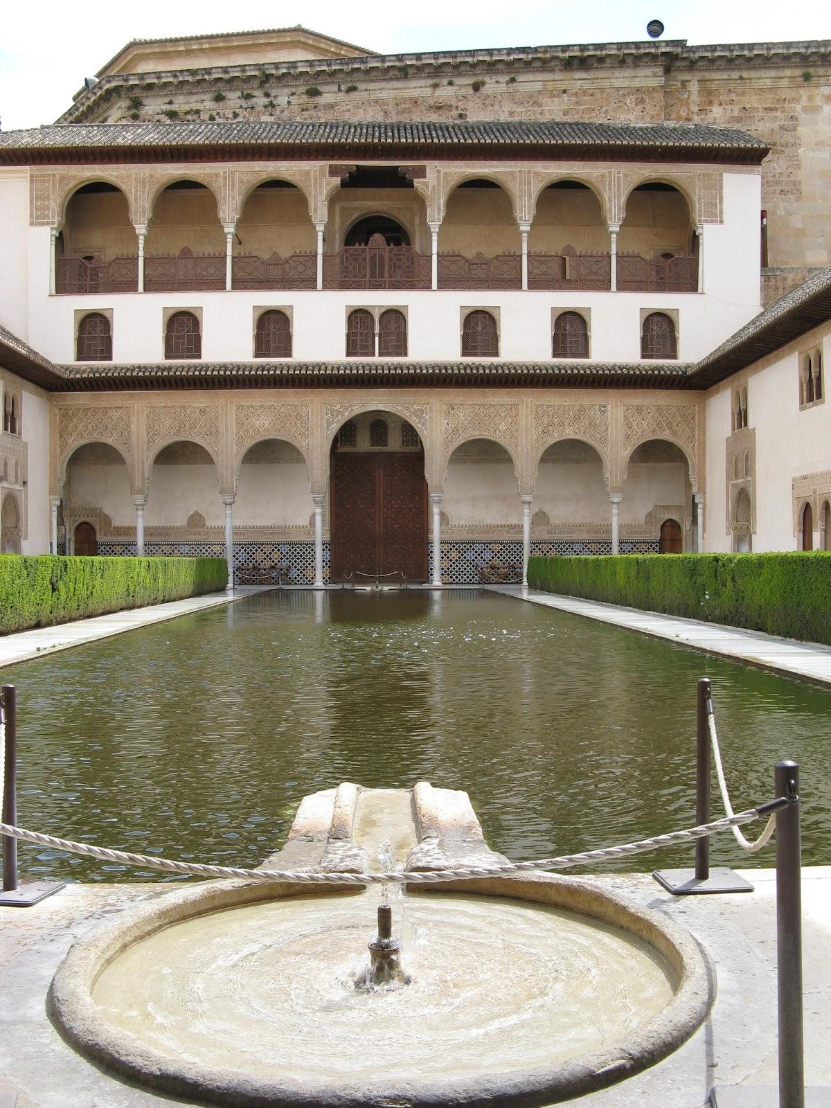 Sociales y lengua patio de los arrayanes la alhambra - Patios de granada ...