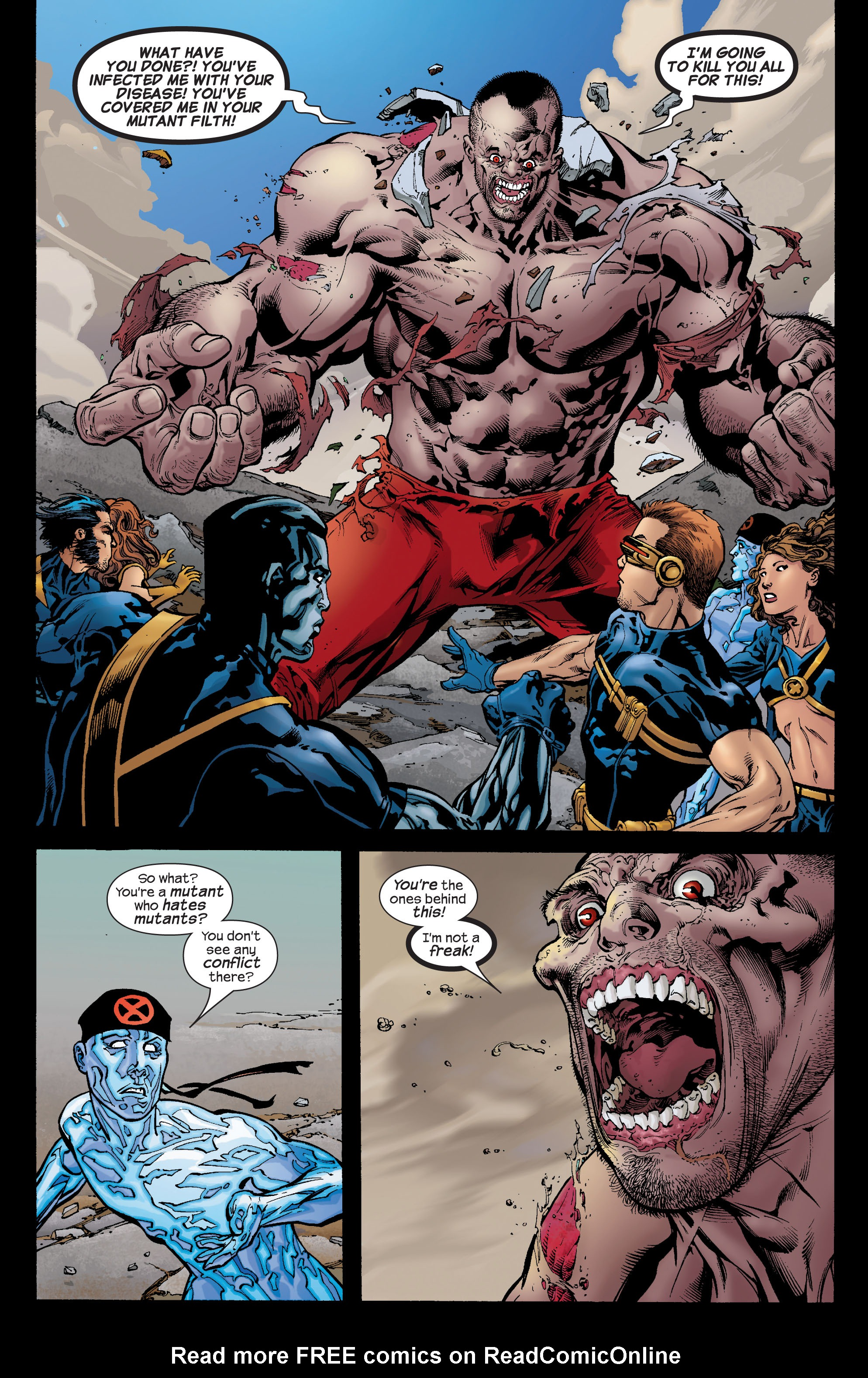 Read online Ultimate X-Men comic -  Issue #72 - 10