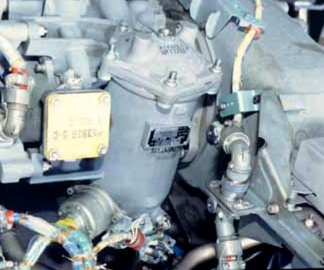 Aircraft Systems Turbine Engine Fuel System Components Spin On Filter Housing