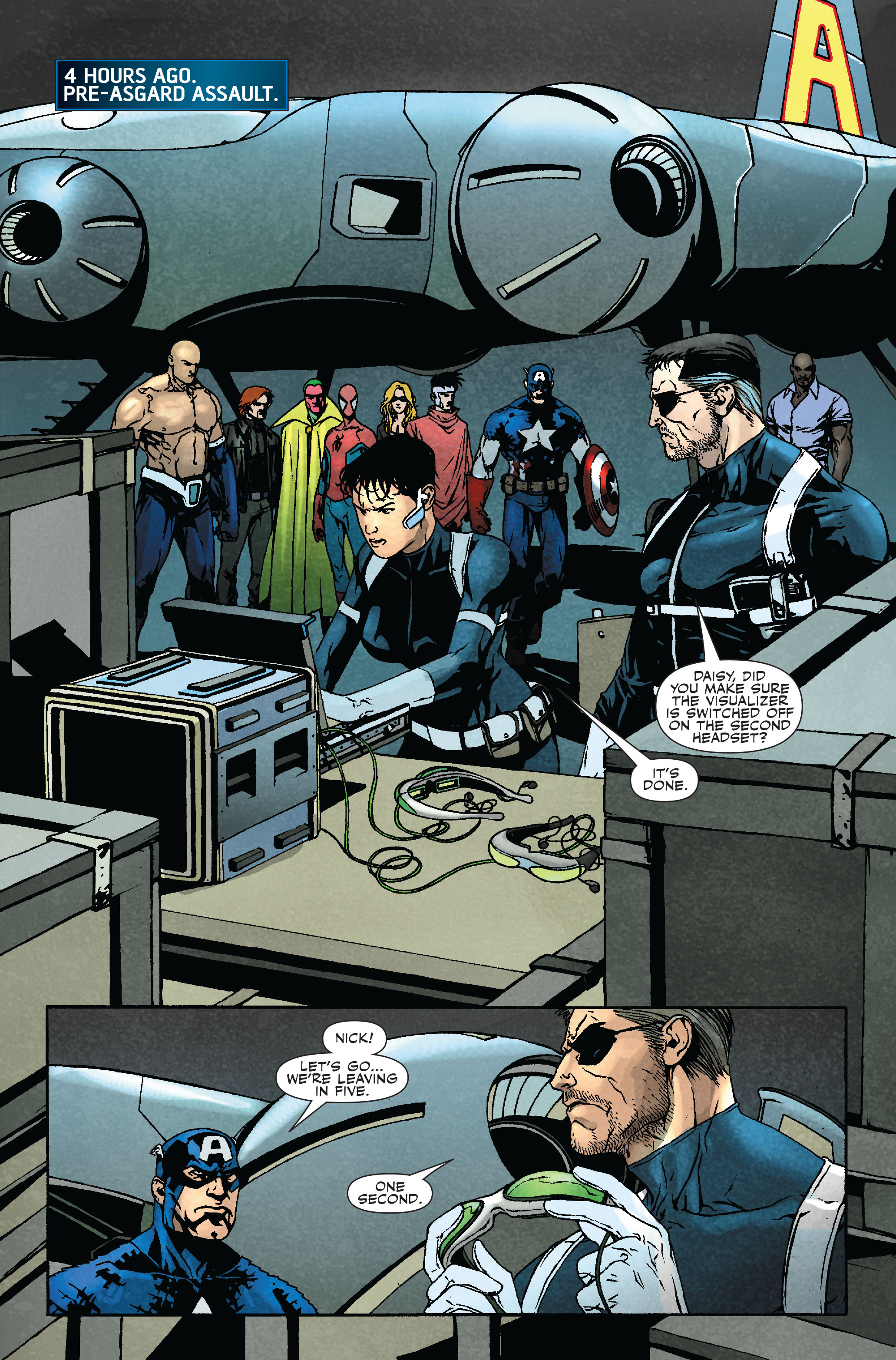 Read online Siege: Secret Warriors comic -  Issue # Full - 7