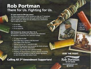 rob portman gun ad