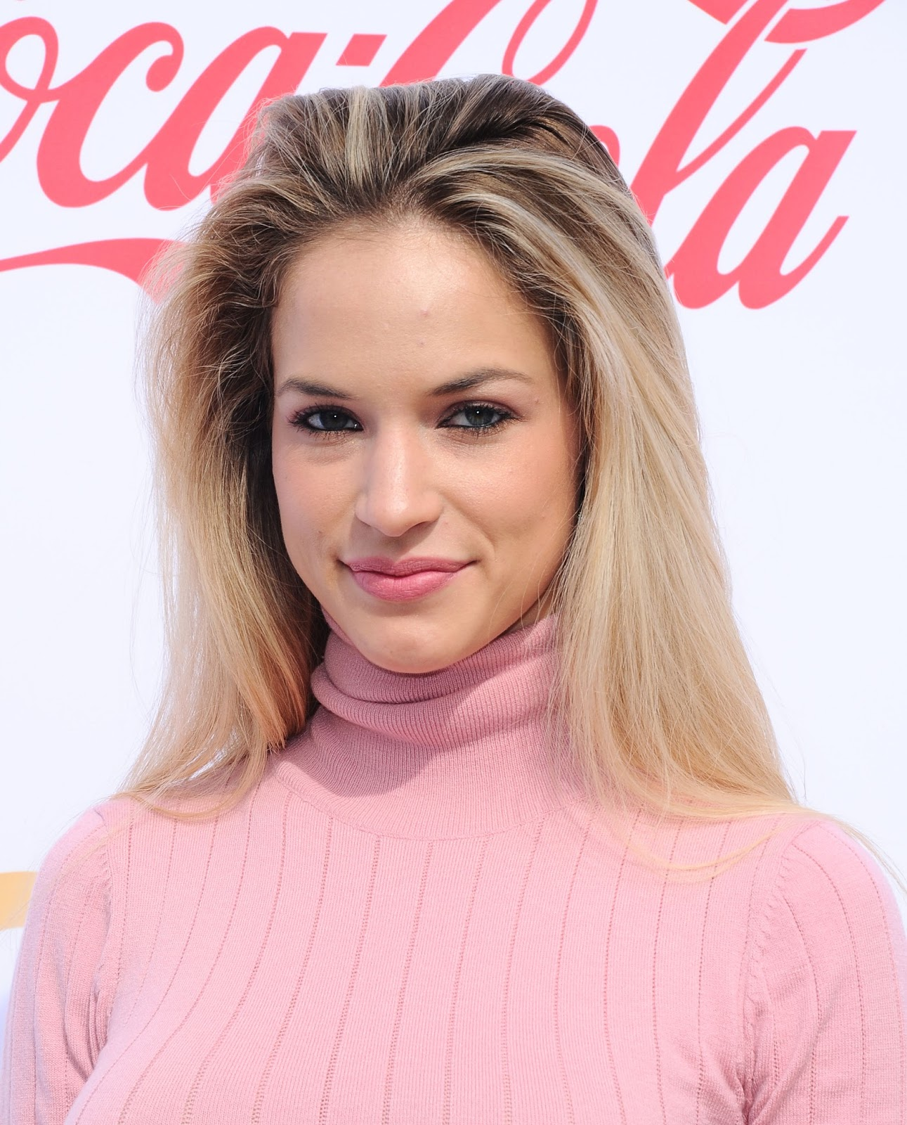 Alexis Knapp Posing at 5th Annual Gold Meets Golden