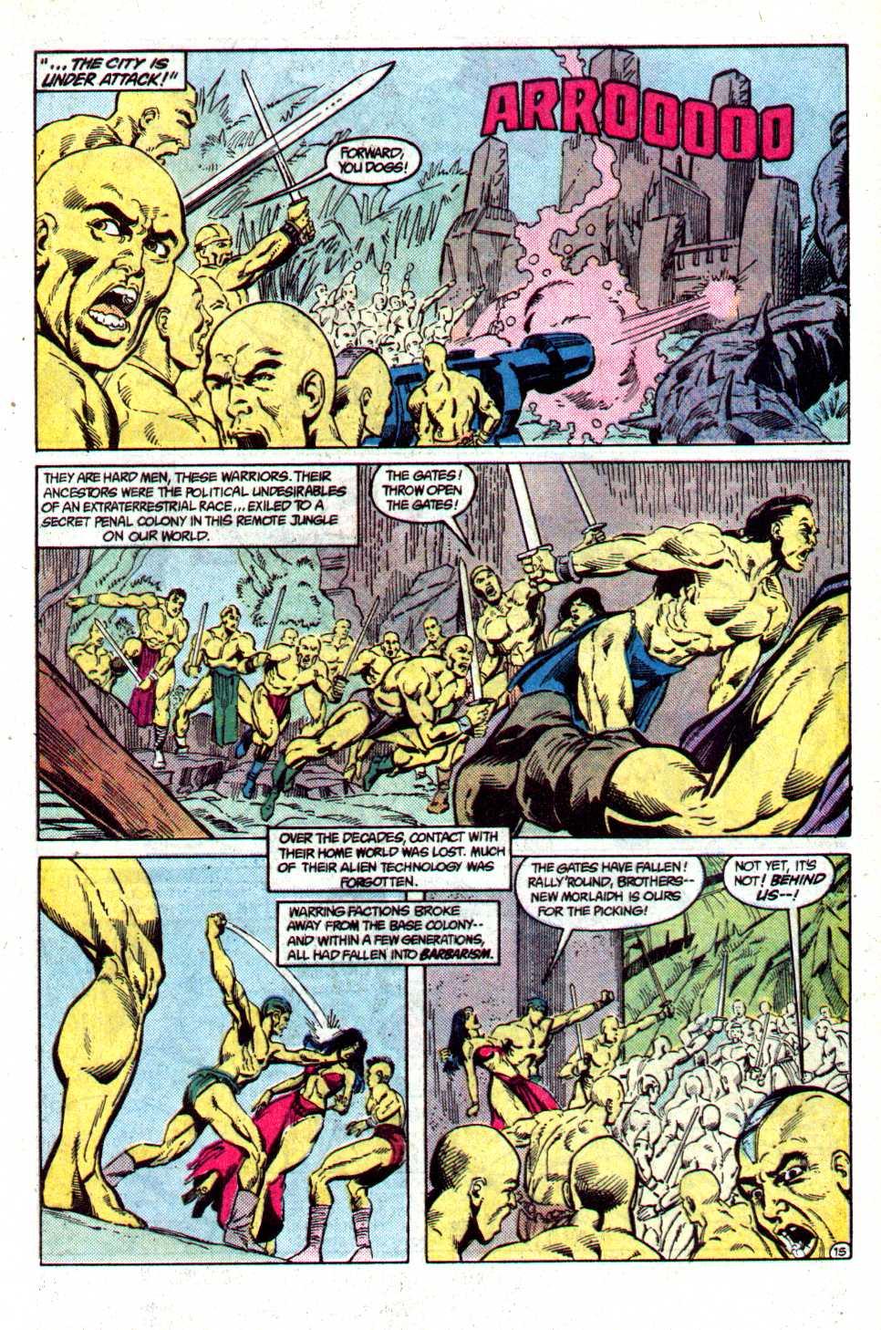 Read online Secret Origins (1986) comic -  Issue #29 - 17