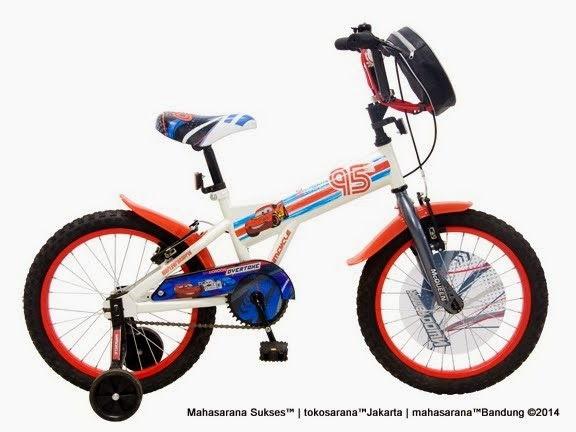 Sepeda Anak Wimcycle Cars 18 Inci