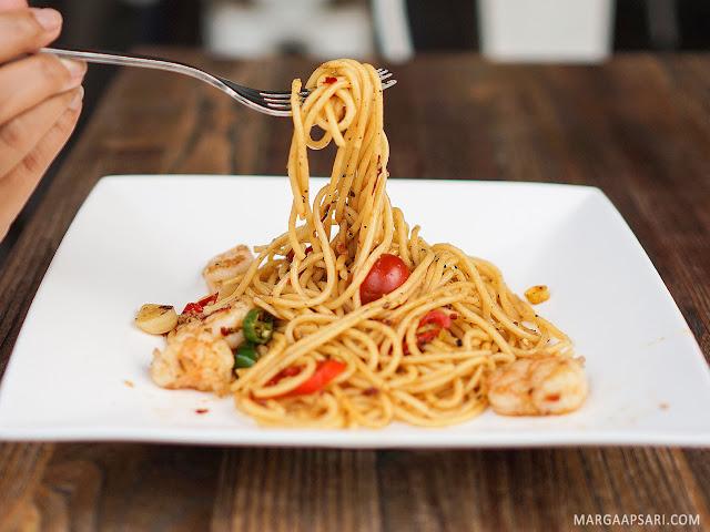 Spaghetti Marinara O! Fish - Gading Serpong, Tangerang