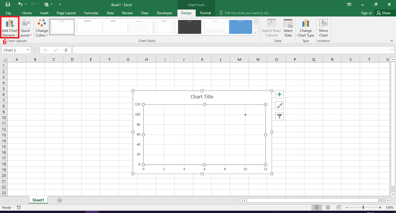 how to add axis titles excel 2016