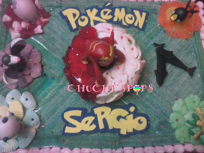 Tarta de Chuches Pokemon