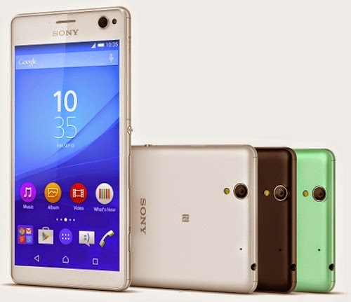 Sony Xperia C4 and Sony Xperia C4 dual SIM smartphone