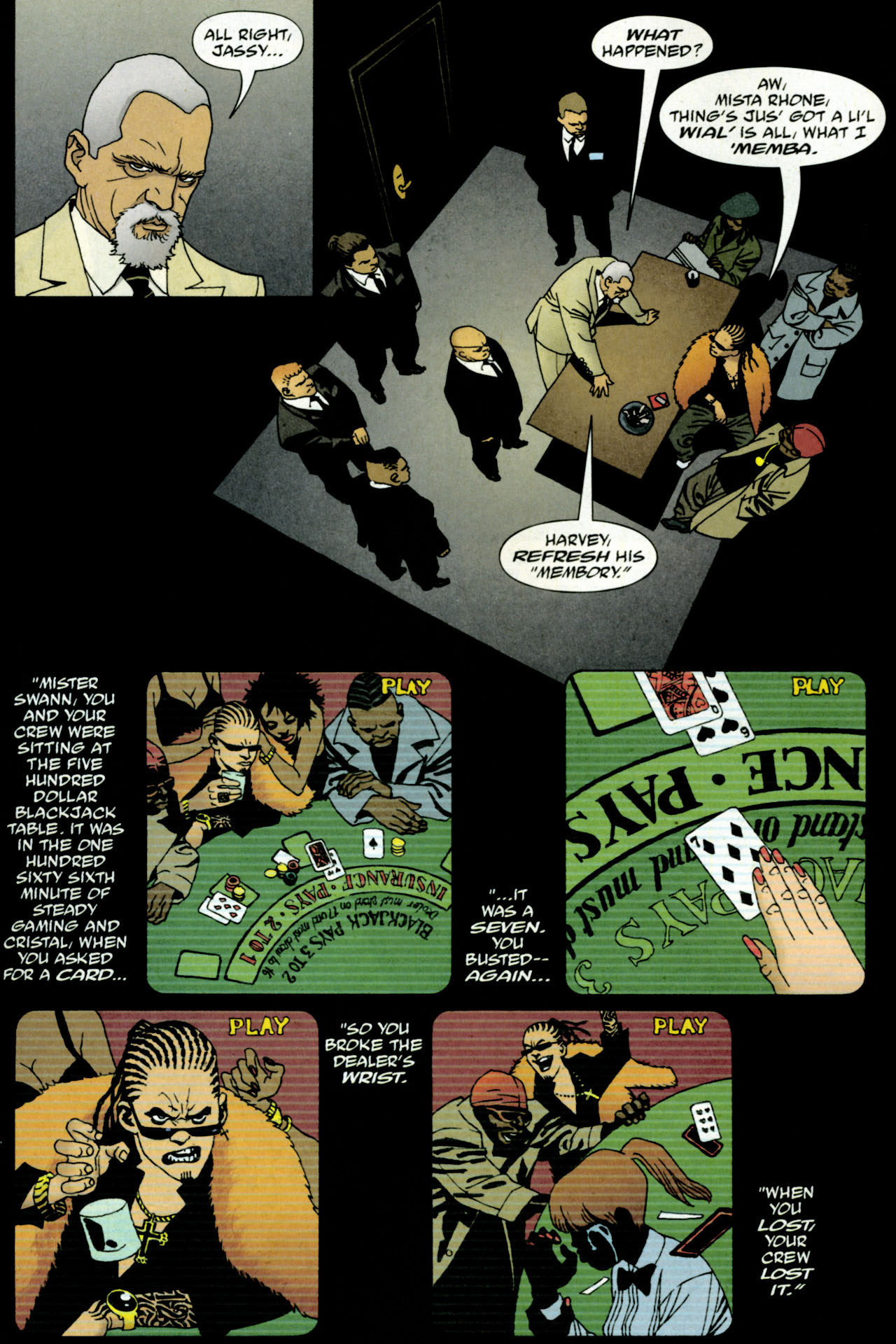 Read online 100 Bullets comic -  Issue #84 - 3