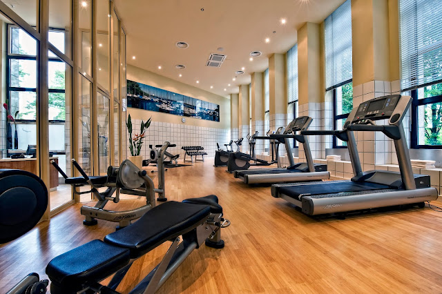 Khu tập Gym với trang thiết bị hiện đại