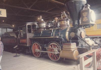 Virginia & Truckee 2-4-0 #21 J.W. Bowker