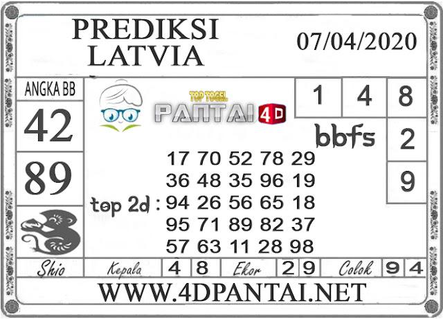 PREDIKSI TOGEL LATVIA PANTAI4D 07 APRIL 2020