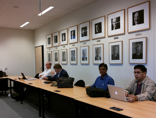 Advanced Educational Research Course at the Maastricht University, the Netherlands, 2013