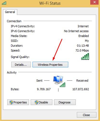 Cara Mengetahui Password WIFI yang Tersambung di PC
