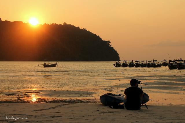 Loh Dalam Bay Koh Phi Phi Thailand