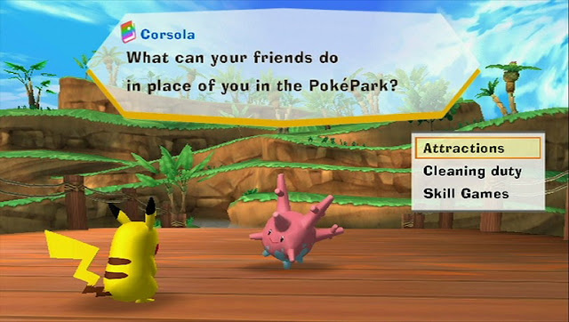 PokePark Wii: Pikachu's Adventure Screenshot-1