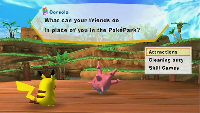 PokePark Wii: Pikachu's Adventure Screenshot-1