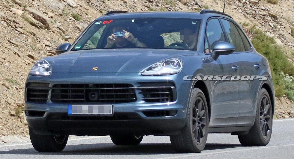 2018 Porsche Cayenne Spied Virtually Undisguised