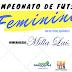 I CAMPEONATO DE FUTSAL FEMININO 2018