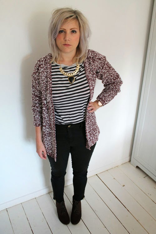 outfit post cardigan