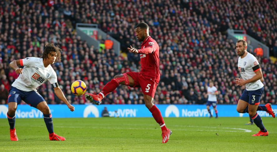 Gini-scoring-vs-Bournemouth