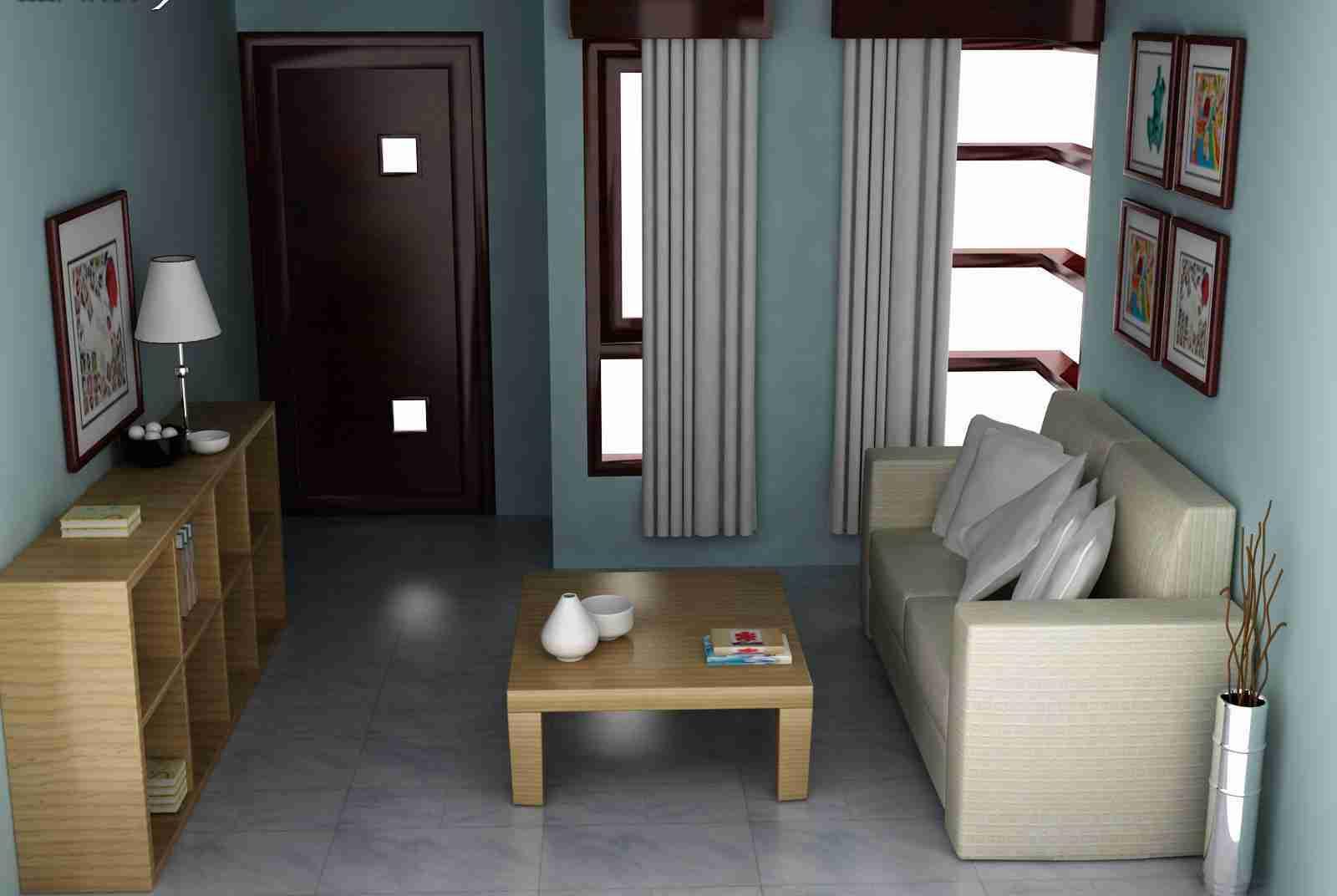 Desain Interior Rumah Minimalis Ruangan Pribadi