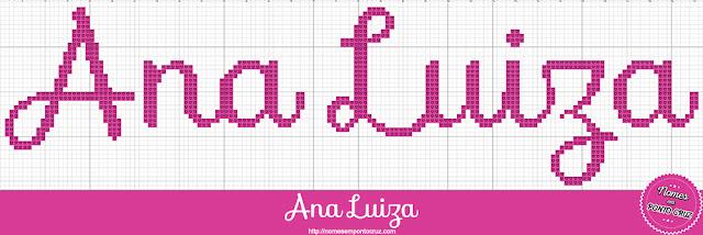 Nome Ana Luiza em Ponto Cruz