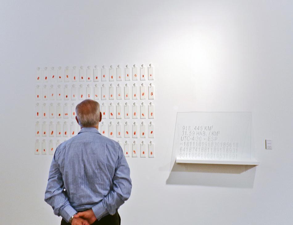 Falsas diferencias de Manuel Eduardo González en el 38 Salón Nacional de Arte Aragua